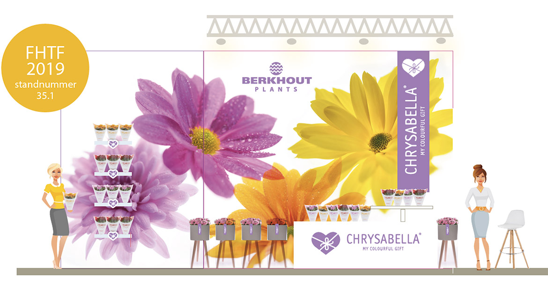 berkhout chrysabella FloraHolland Trade Fair 2019 stand
